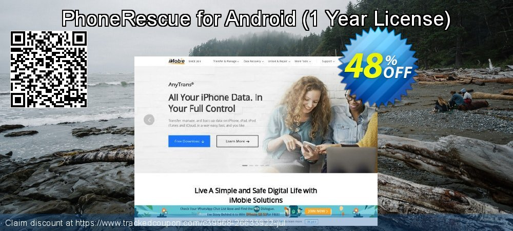 Claim 32% OFF PhoneRescue for Android - 1 Year License Coupon discount August, 2020