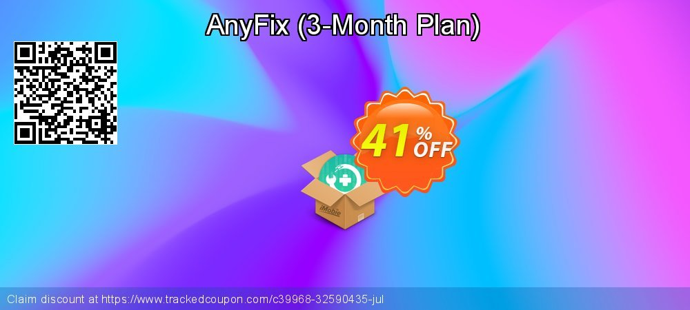 AnyFix - 3-Month Plan  coupon on All Hallows' evening offer