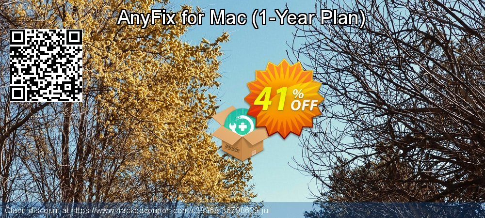 AnyFix for Mac - 1-Year Plan  coupon on World Smile Day discount