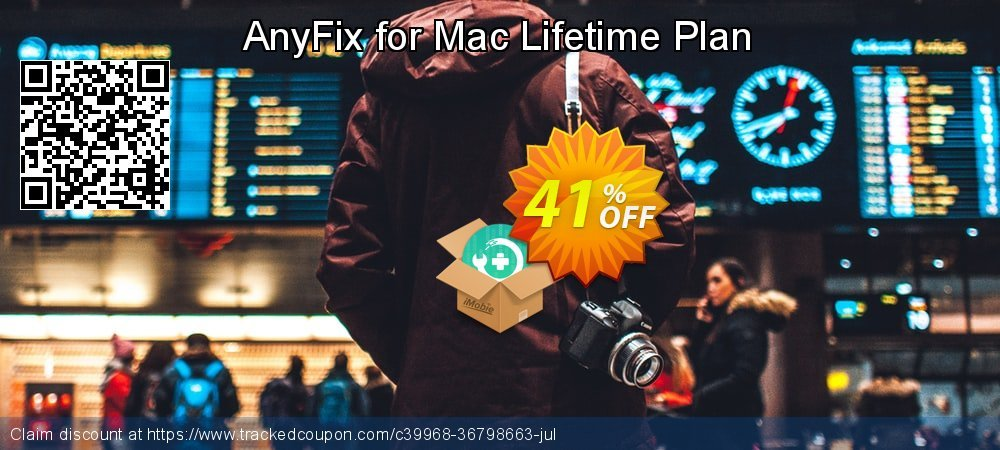 AnyFix for Mac Lifetime Plan coupon on Halloween deals