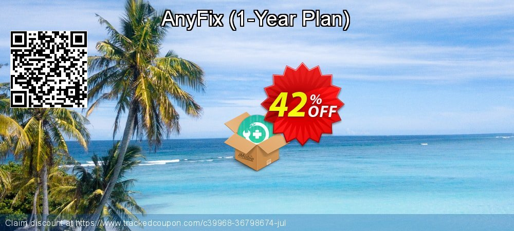 AnyFix - 1-Year Plan  coupon on Halloween discount