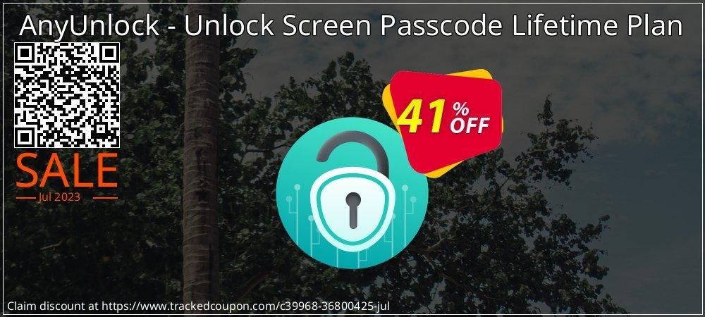 AnyUnlock iPhone Password Unlocker Lifetime Plan coupon on World Teachers' Day promotions