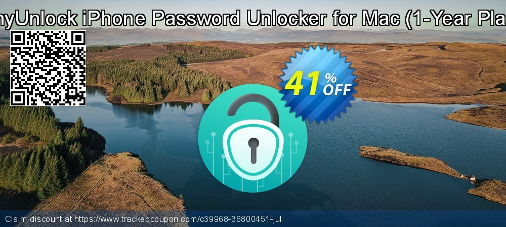 AnyUnlock iPhone Password Unlocker for Mac - 1-Year Plan  coupon on Coffee Day discounts