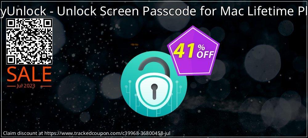 AnyUnlock iPhone Password Unlocker for Mac Lifetime Plan coupon on World Teachers' Day offering sales