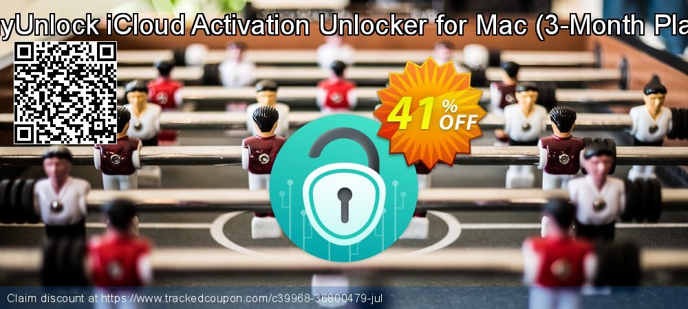 AnyUnlock iCloud Activation Unlocker for Mac - 3-Month Plan  coupon on Chinese National Day promotions