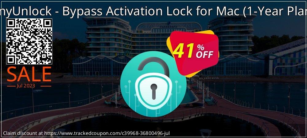 AnyUnlock iCloud Activation Unlocker for Mac - 1-Year Plan  coupon on National Pumpkin Day discounts
