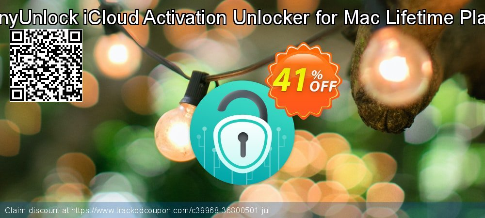 AnyUnlock iCloud Activation Unlocker for Mac Lifetime Plan coupon on Chinese National Day discount