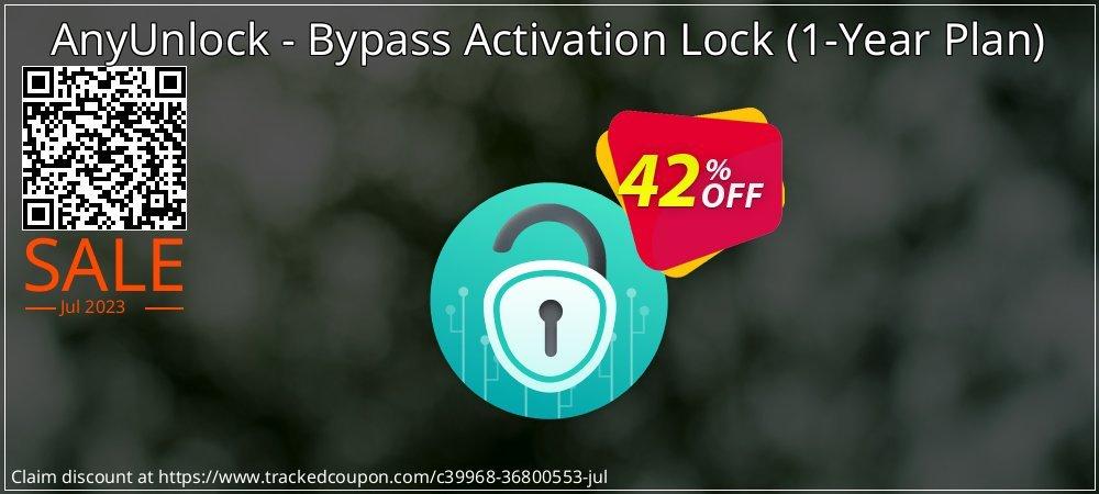 AnyUnlock iCloud Activation Unlocker - 1-Year Plan  coupon on All Hallows' evening deals