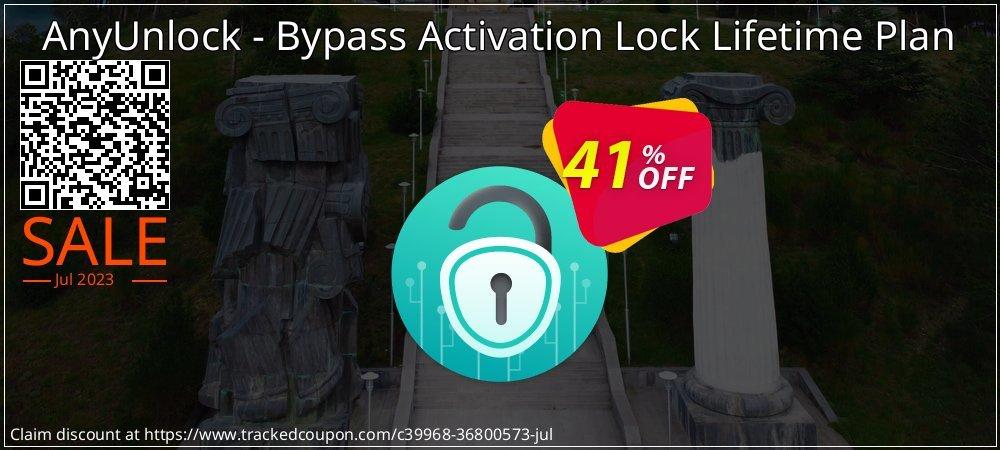 AnyUnlock iCloud Activation Unlocker Lifetime Plan coupon on National Pumpkin Day discount