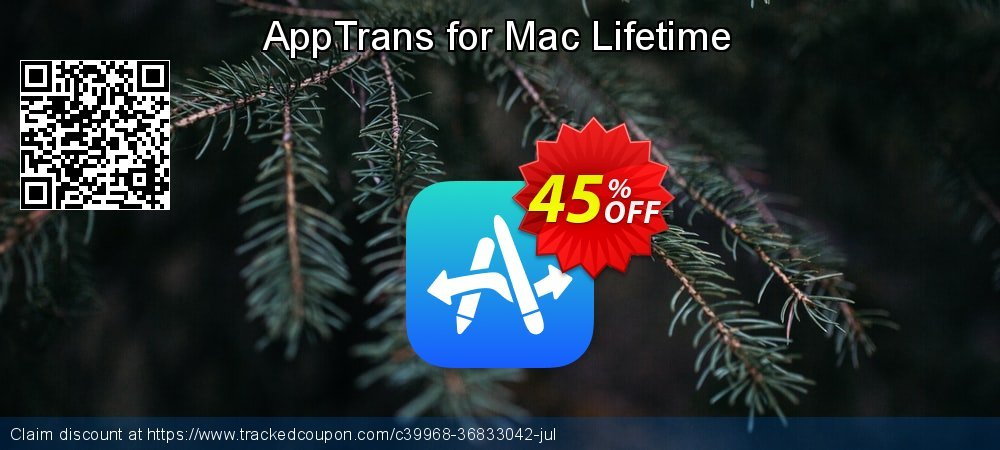 AppTrans for Mac Lifetime coupon on National Noodle Day sales