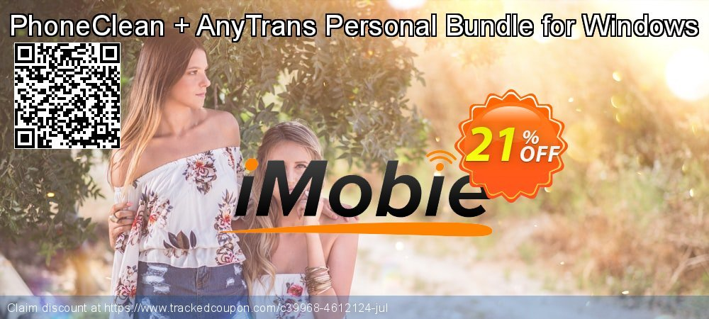 PhoneClean + AnyTrans Personal Bundle for Windows coupon on Chinese National Day sales