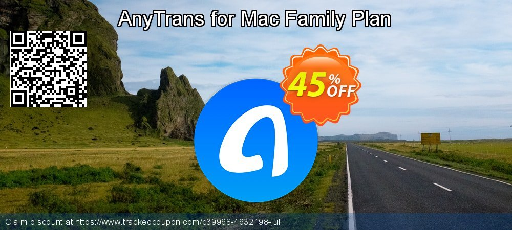 AnyTrans for iOS - family license  coupon on Happy New Year offering discount