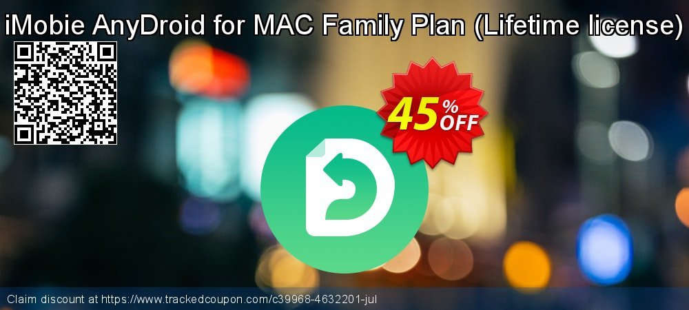 AnyTrans for Android - family license  coupon on Halloween discounts
