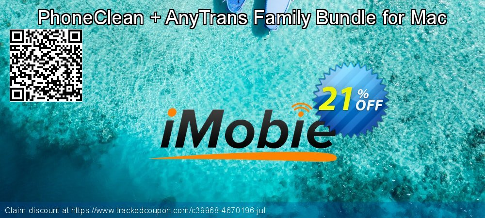 PhoneClean + AnyTrans Family Bundle for Mac coupon on National Noodle Day offering discount
