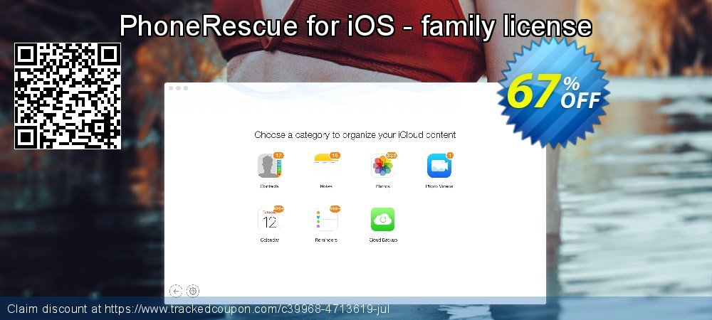 Claim 67% OFF PhoneRescue for iOS - family license Coupon discount July, 2020