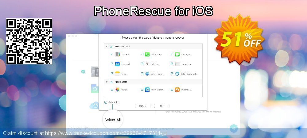 PhoneRescue for iOS coupon on Exclusive Student discount offer