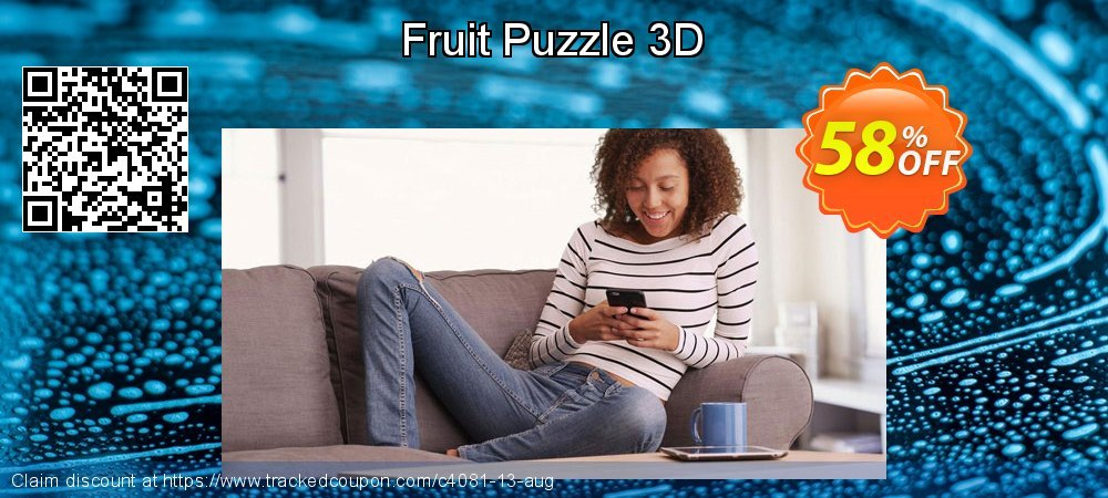 Get 50% OFF Fruit Puzzle 3D offering sales