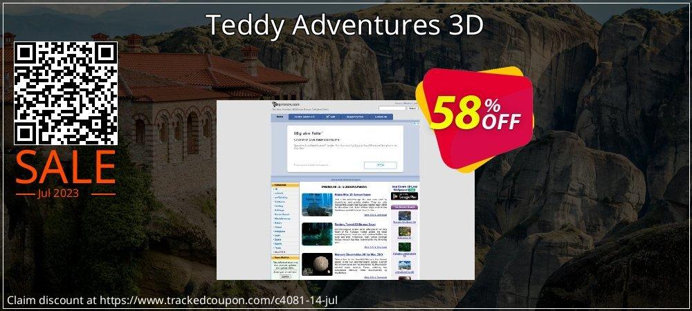 Get 50% OFF Teddy Adventures 3D promotions