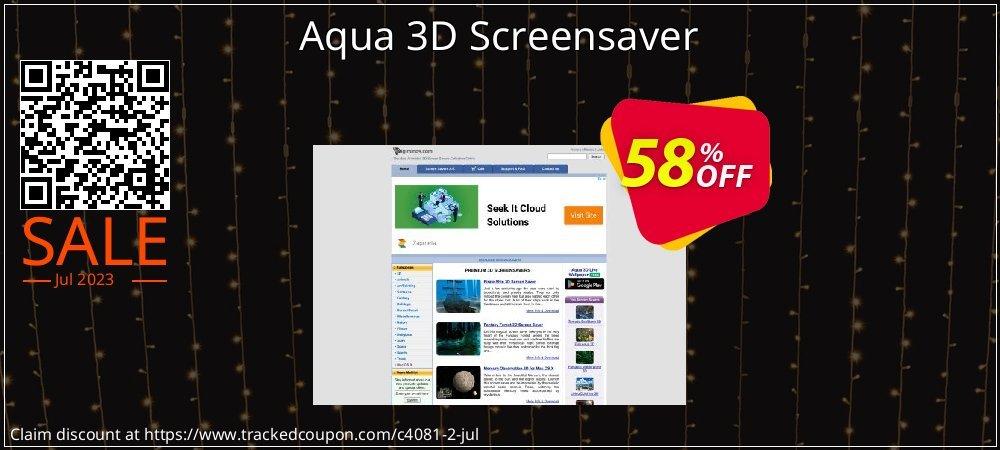 Get 50% OFF Aqua 3D Screensaver offer