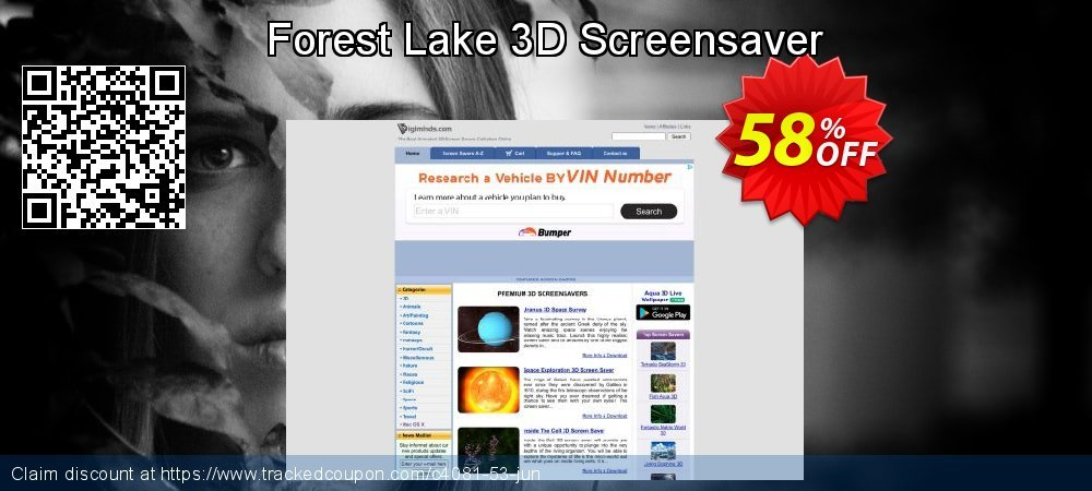 Forest Lake 3D Screensaver coupon on Summer promotions