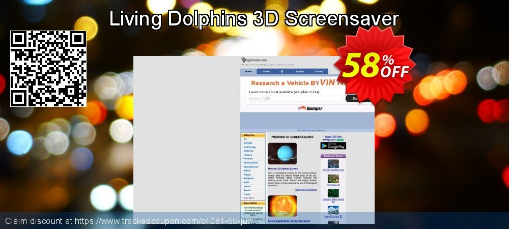 Get 50% OFF Living Dolphins 3D Screensaver discount