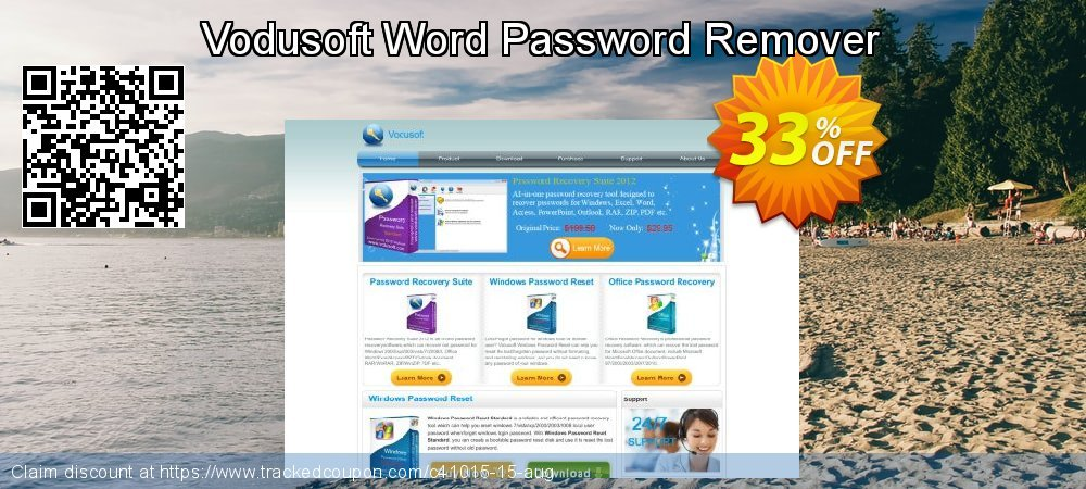 Vodusoft Word Password Remover coupon on Lunar New Year discounts