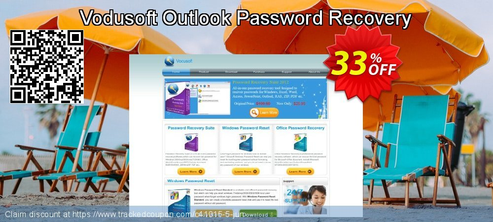 Get 30% OFF Vodusoft Outlook Password Recovery promo