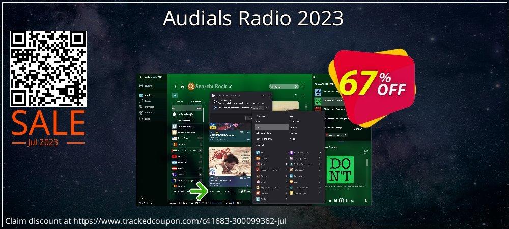 Get 63% OFF Audials Radio 2021 offering sales