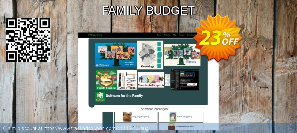 Get 15% OFF FAMILY BUDGET discount