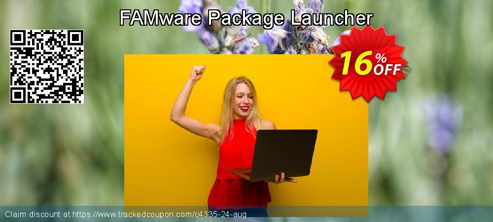 Get 15% OFF FAMware Package Launcher offering sales