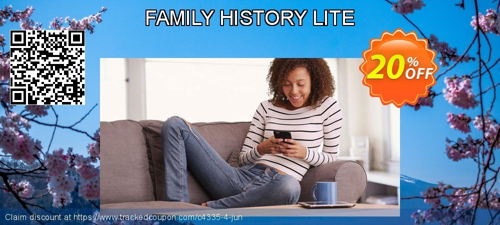 Get 15% OFF FAMILY HISTORY LITE discounts
