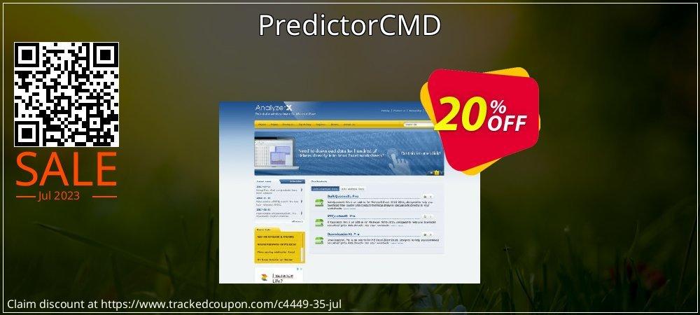 PredictorCMD coupon on Halloween deals