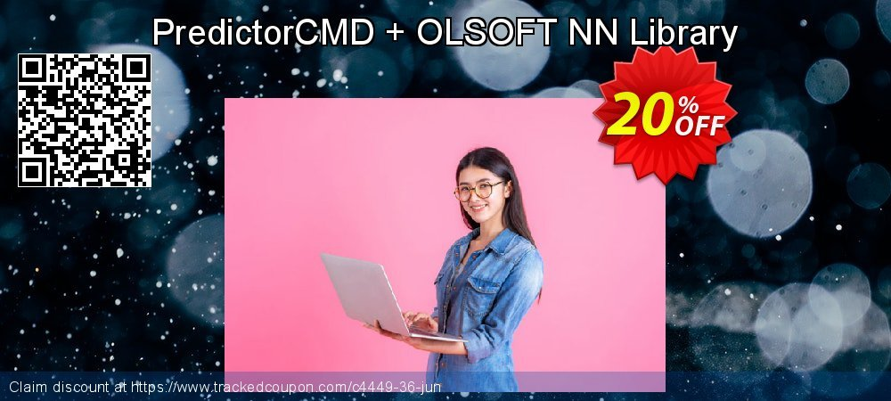 PredictorCMD + OLSOFT NN Library coupon on Back to School deals deals