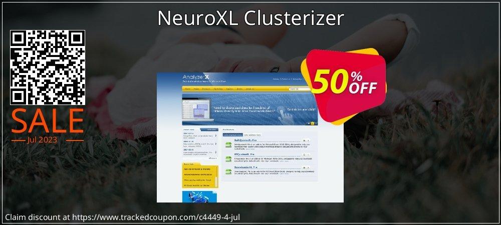 NeuroXL Clusterizer coupon on Halloween super sale