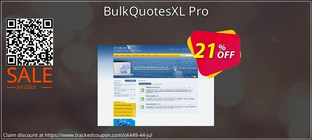 BulkQuotesXL Pro coupon on Halloween deals
