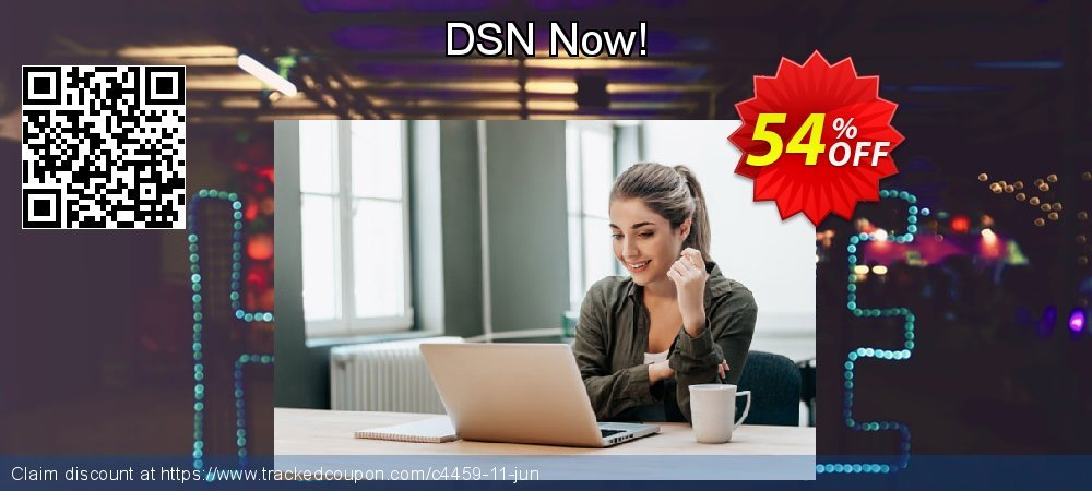 DSN Now! coupon on Halloween offering sales