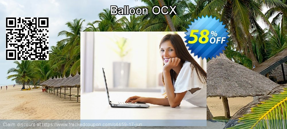 Balloon OCX coupon on Halloween offer