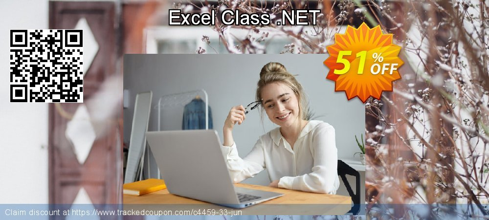 Excel Class .NET coupon on Halloween sales