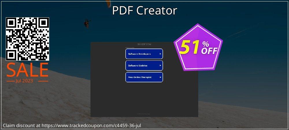 PDF Creator coupon on Halloween discount