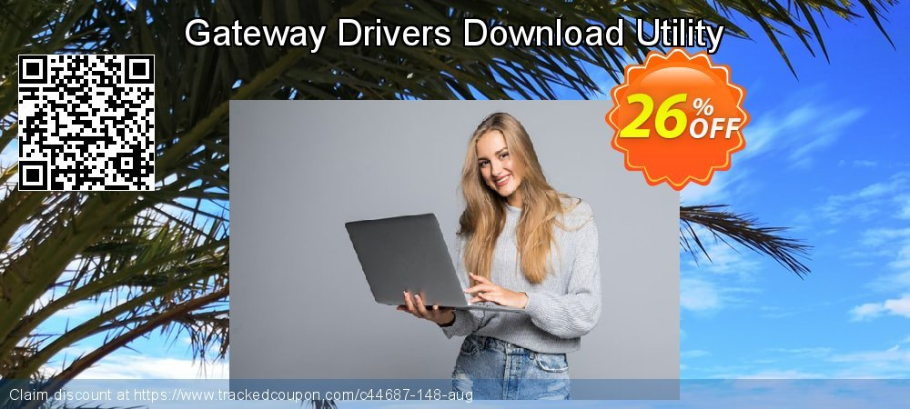 Get 25% OFF Gateway Drivers Download Utility promo