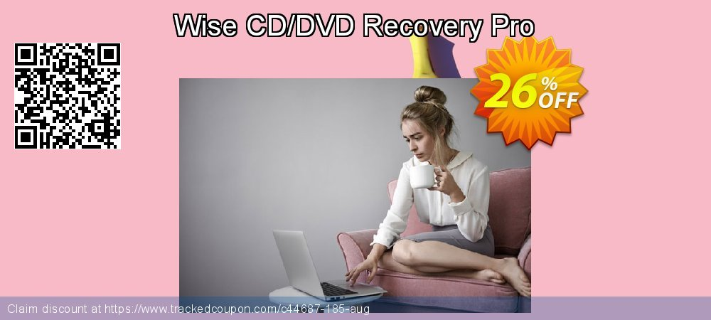 Get 25% OFF Wise CD/DVD Recovery Pro promo
