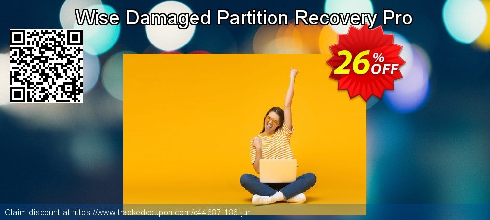 Get 25% OFF Wise Damaged Partition Recovery Pro promo sales