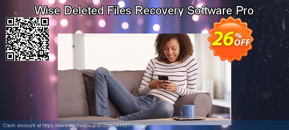 Wise Deleted Files Recovery Software Pro coupon on 4th of July deals
