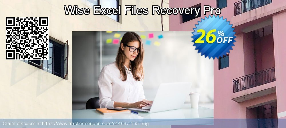 Get 25% OFF Wise Excel Files Recovery Pro offering sales