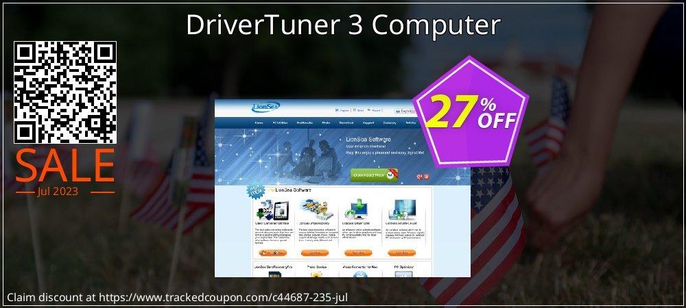 Get 25% OFF DriverTuner 3 Computer promotions
