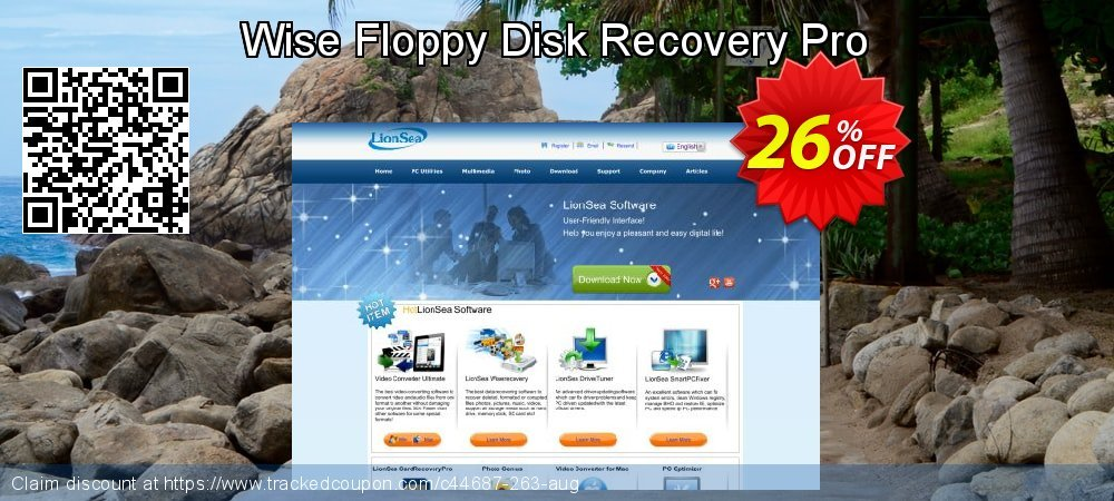 Get 25% OFF Wise Floppy Disk Recovery Pro promo