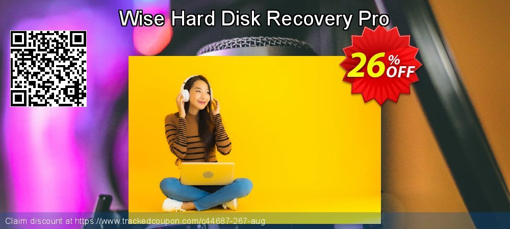 Get 25% OFF Wise Hard Disk Recovery Pro offering sales