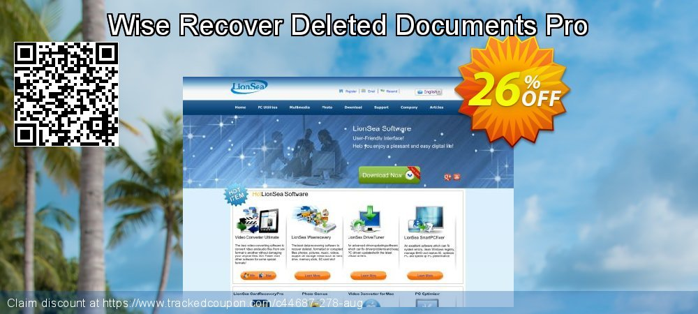 Wise Recover Deleted Documents Pro coupon on College Student deals promotions