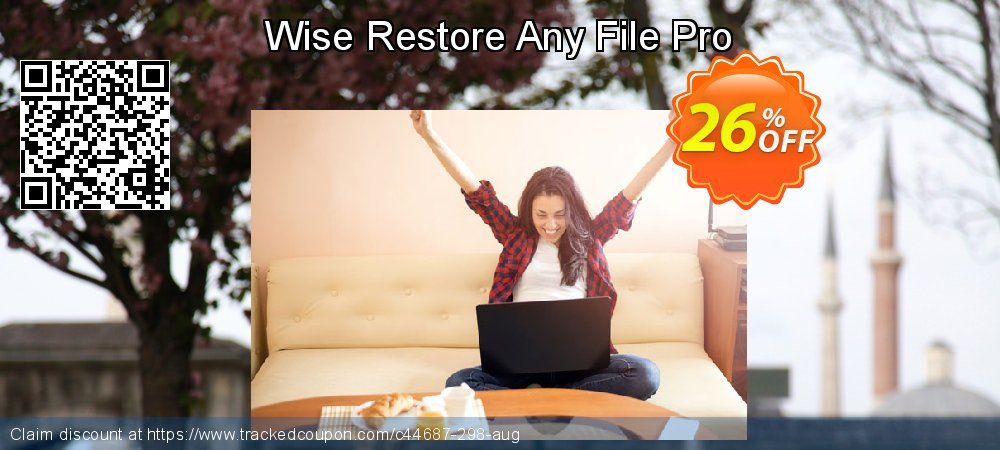 Get 25% OFF Wise Restore Any File Pro promo
