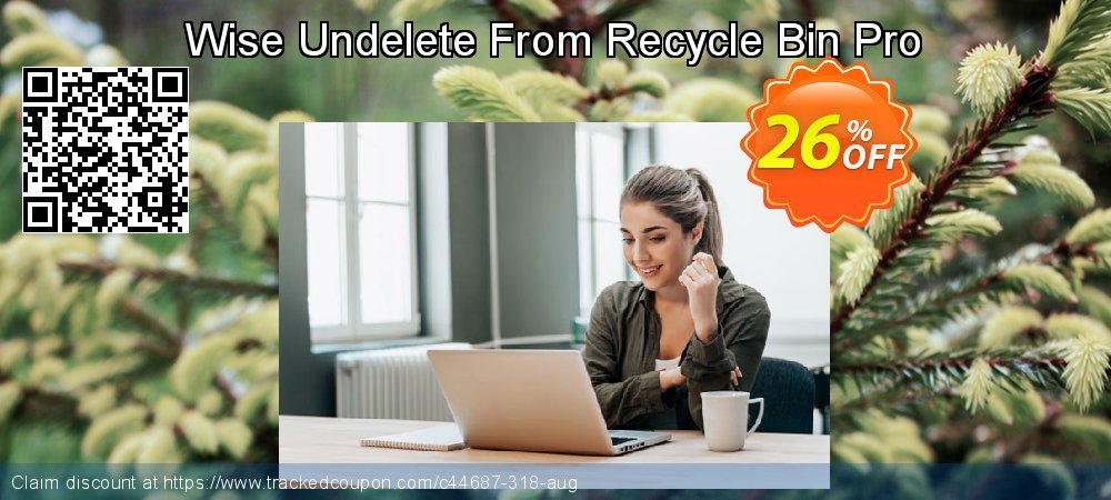 Get 25% OFF Wise Undelete From Recycle Bin Pro offering sales